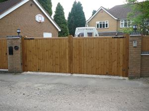 Picture for category Wooden Gates